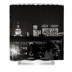 Columbia Skyline Shower Curtain