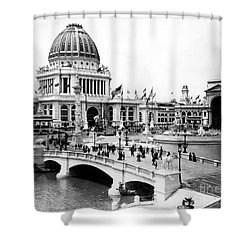 Columbian Expo, 1893 Shower Curtain by Granger