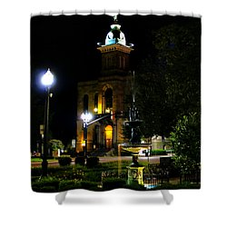 Columbiana Cty Courthouse Shower Curtain