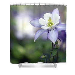 Columbine Queen Shower Curtain