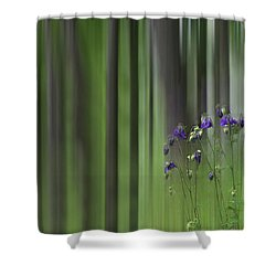 Columbine Spring Shower Curtain