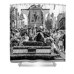 Columbus Day Parade San Francisco Shower Curtain