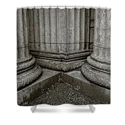 Columns #1 Shower Curtain