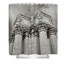 Columns #2 Shower Curtain