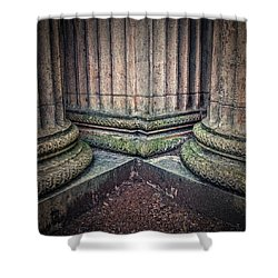 Columns #3 Shower Curtain