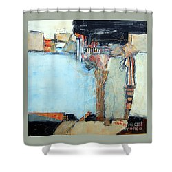 Columns Shower Curtain