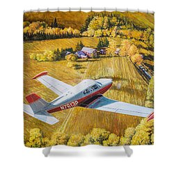 Comanche Shower Curtain