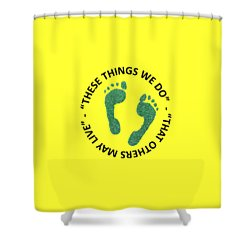 Combat Search And Rescue Shower Curtain