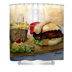Come And Get It Dinner Is Ready Shower Curtain