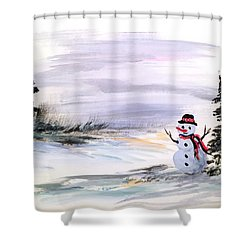 Come And Play With Me Shower Curtain