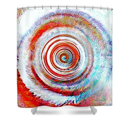 Come Away Shower Curtain