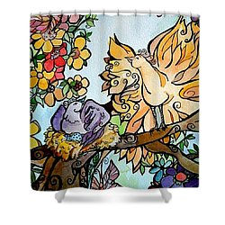 Come Grow Old With Me The Best Is Yet To Be Shower Curtain