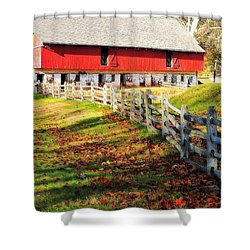 Come October Shower Curtain