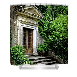 Shower Curtain featuring the photograph Come On Up To The House by Marco Oliveira