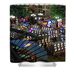 Shower Curtain featuring the photograph Come Play With Me by John Schneider