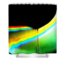 Come-sit In My Rainbow Shower Curtain