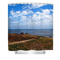Shower Curtain featuring the photograph Come Sit With Me by Joyce Dickens