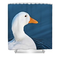 Come Swim With Me Shower Curtain