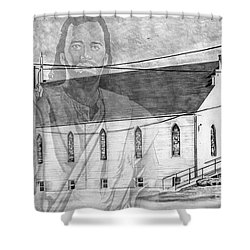 Come Unto Me Shower Curtain by Bill Richards