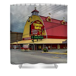 Comedy Barn Pigeon Forge Shower Curtain