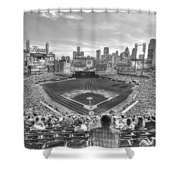 Comerica Park Shower Curtain