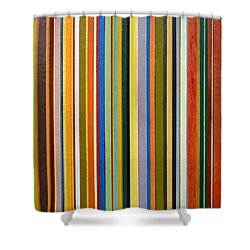 Comfortable Stripes Shower Curtain