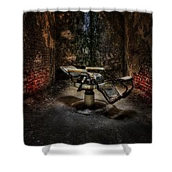 Comfortably Numb Shower Curtain by Evelina Kremsdorf