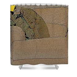 Comfy Chair Shower Curtain