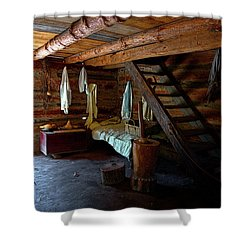 Comfy Corner Shower Curtain by Christopher Holmes