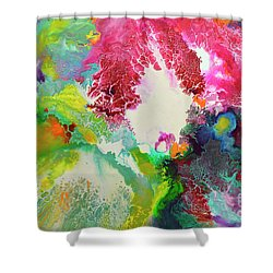 Coming Alive 3 Shower Curtain