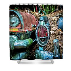 Coming And Going, 2 Shower Curtain