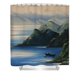 Coming Back To Life Shower Curtain
