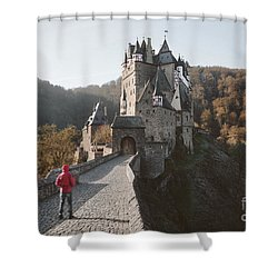 Coming Home Shower Curtain by JR Photography