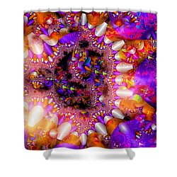 Shower Curtain featuring the digital art Coming Home by Robert Orinski