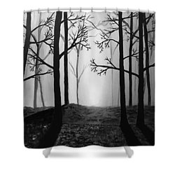 Coming Light Shower Curtain