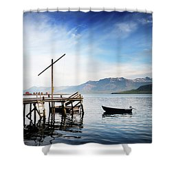 Coming Of The Light Shower Curtain