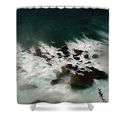Shower Curtain featuring the photograph Coming Out by Harsh Malik