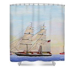 Coming To America - 1872 Shower Curtain
