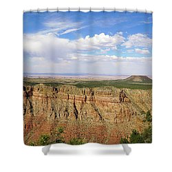 Coming To The End Shower Curtain