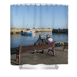 Comings And Goings Shower Curtain