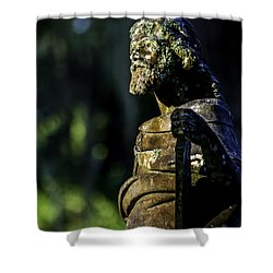 Commandments  Shower Curtain by Ken Frischkorn