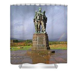 Commando Memorial Shower Curtain