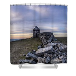 Commedagh Summit Shelter Shower Curtain