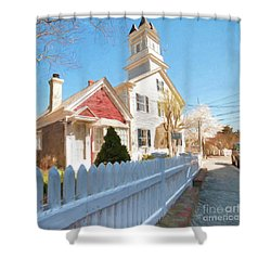 Commercial St. #3 Shower Curtain