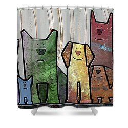 Committee Shower Curtain