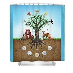 Common Ground Shower Curtain
