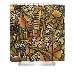 Community Support Shower Curtain