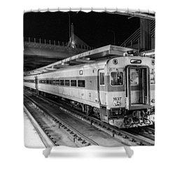 Commuter Rail Shower Curtain