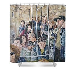 Commuters Shower Curtain