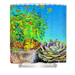 Companionship	 Shower Curtain